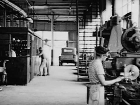 Workers were expected to abide by a strict set of rules and labor practices.