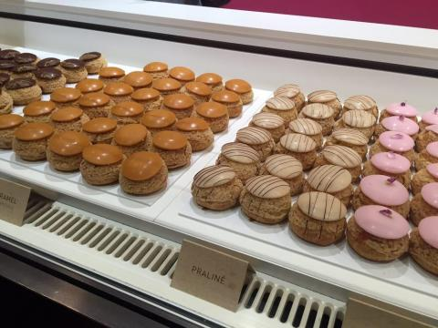 You can find them at Popelini — a pâtisserie that serves cream puffs exclusively.