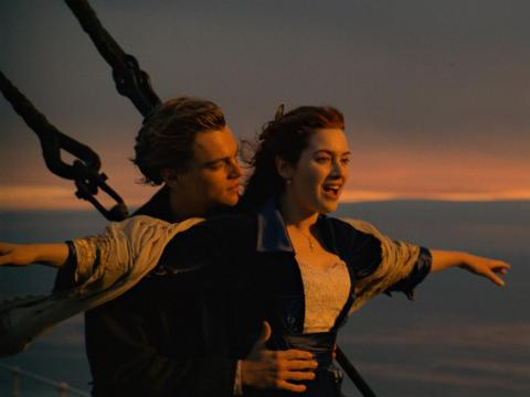 "You might be tempted to recreate the iconic ""I'm flying"" moment from the movie ""Titanic."""