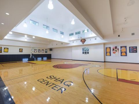 O'Neal's home also has many additional rooms, like a recording studio, a 17-car garage, a cigar bar and lounge, a home theater, and, of course, an indoor basketball court.