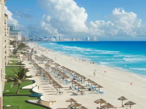 So before you travel to Cancún, know that instead of this…