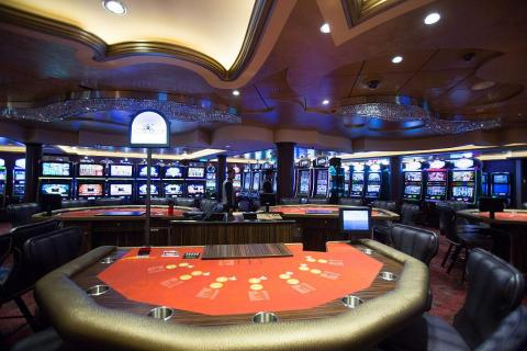 Your ship could come equipped with a swanky casino.