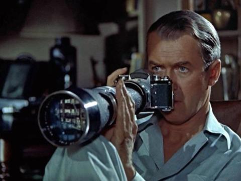 """1. """"Rear Window"""" (1954)"""