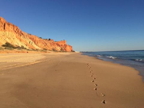 11. Playa Falesia, Faro, Portugal.