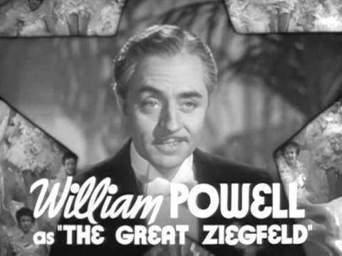 """The Great Ziegfeld"" fue dirigida por Robert Z. Leonard."