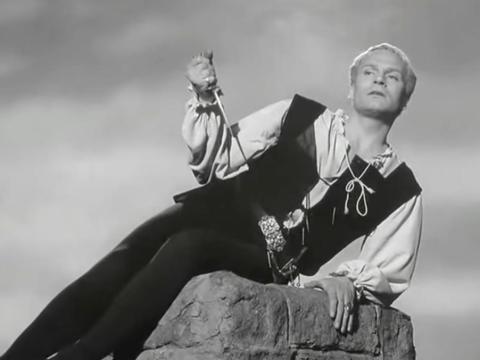 """""""Hamlet"""" fue dirigida por Laurence Olivier."""