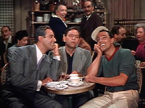 """""""An American in Paris""""  fue dirigia por Vincente Minnelli."""