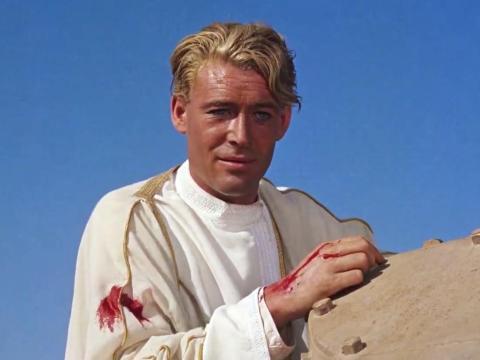 """""""Lawrence of Arabia"""" fue dirigida por David Lean."""