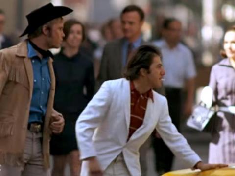 """Midnight Cowboy"" fue dirigida por John Schlesinger."