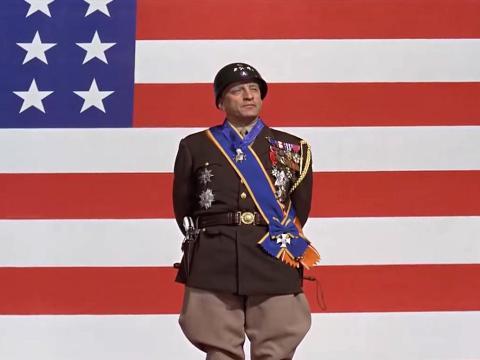 """""""Patton""""  dirigida por Franklin J. Schaffner."""