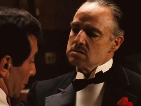 """The Godfather"" dirigida por Francis Ford Coppola."