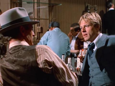 """""""The Sting"""" dirigida por George Roy Hill."""