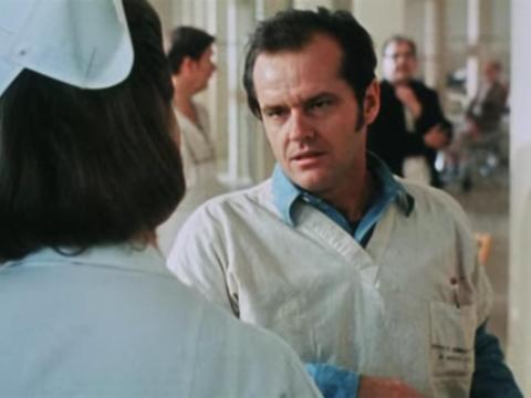 """One Flew Over the Cuckoo's Nest"" dirigida por Miloš Forman."
