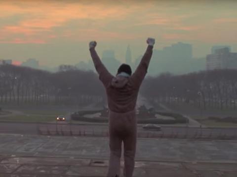 """""""Rocky"""" dirigida por John G. Avildsen."""