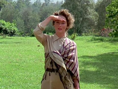 """Out of Africa"" fue dirigida por Sydney Pollack."