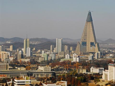 In 1987, North Korea built a 107-story pyramid tower in its capital city, but it has remained abandoned for decades.