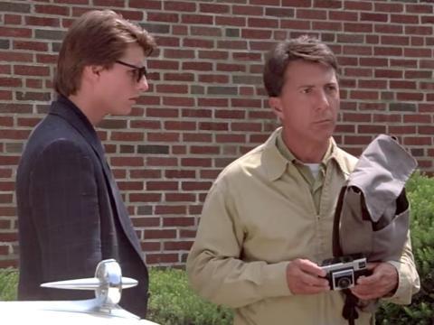 """""""Rain Man"""" fue dirigida por Barry Levinson."""