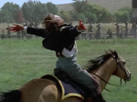 """""""Dances with Wolves""""fue dirigiada por Kevin Costner."""
