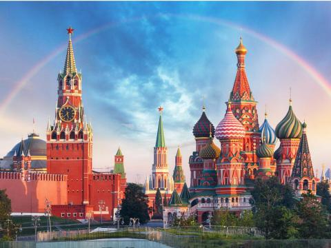 2. Moscow is the capital of Russia and the country's financial and cultural center.