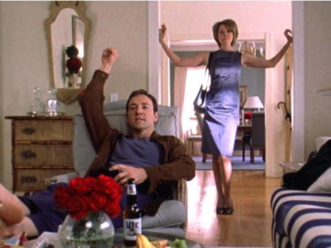 """American Beauty"" dirigida por Sam Mendes."