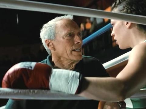 """""""Million Dollar Baby"""" dirigida por Clint Eastwood."""