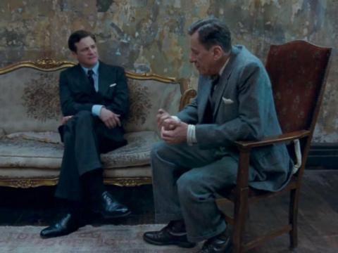 """""""The King's Speech"""" dirigido por Tom Hooper."""