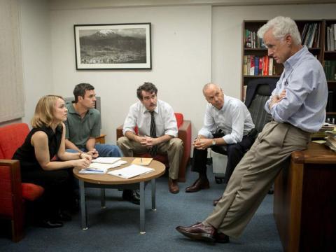 """Spotlight"" dirigida por Tom McCarthy."