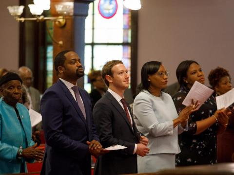 In 2017, Zuckerberg seemed to be flirting with a career in politics as he embarked on a whirlwind tour of the US. He was photographed working on a Ford assembly line in Michigan, visiting a Civil War battlefield in Mississippi,