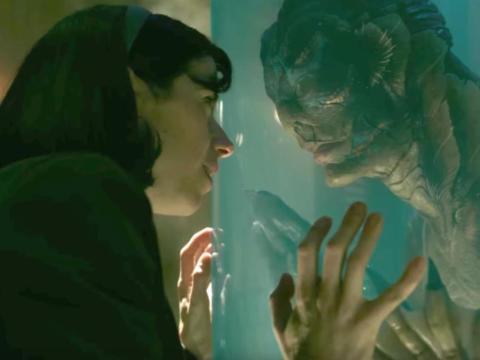"""""""The Shape of Water"""" dirigida por Guillermo del Toro."""
