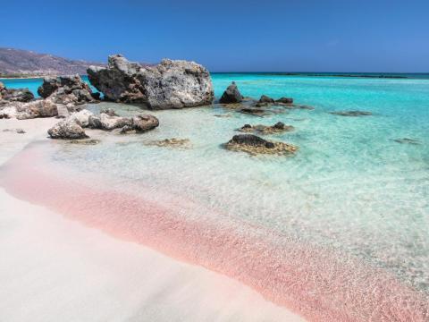 21. Playa Elafonisi, Creta, Grecia.