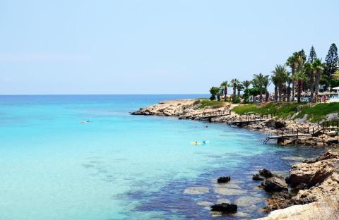 22. Bahía de la Higuera, Protaras, Chipre.
