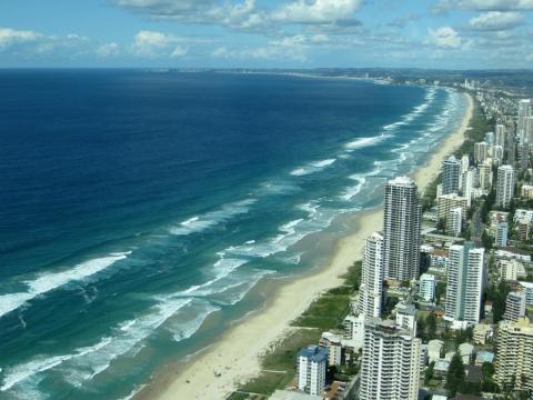 23. Surfers Paradise Beach, Gold Coast, Australia.