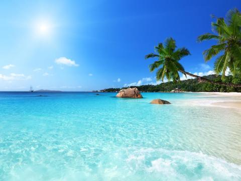 24. Anse Lazio, Isla Praslin, Seychelles.