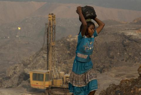 3. Many illegal coal miners in India are from the country's Adivasi indigenous people. The rapid growth of the industry and India's economy has seen many Advasis forced off their traditional land, where they've hunted and cropped