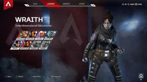 3. Wraith.