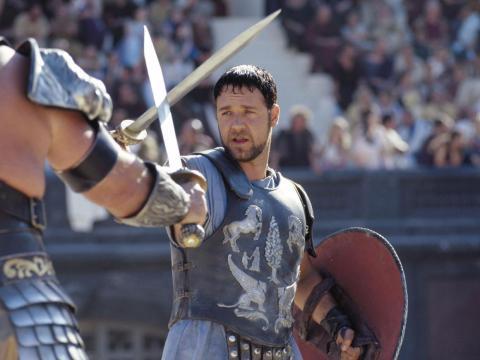 """""""Gladiator"""" fue dirigida por Ridley Scott."""