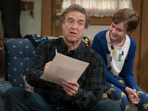 "375.000 dólares — John Goodman, ""The Conners"" (ABC)"