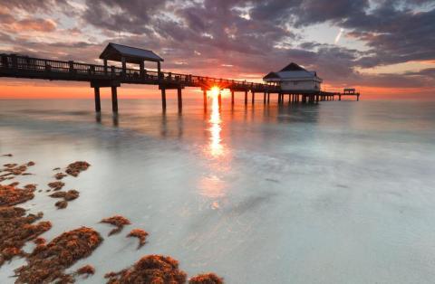 6. Playa de Clearwater, Florida, Estados Unidos.