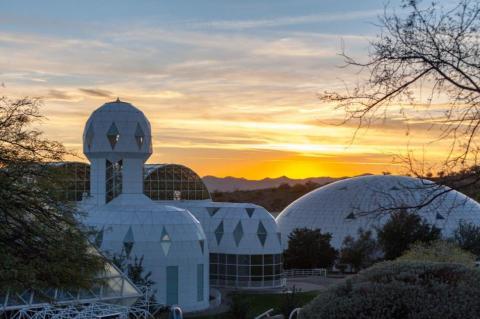 Biosphere 2 en Oracle, Arizona