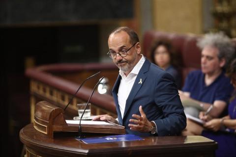 Carles Campuzano, portavoz del PdeCAT en el Congreso.