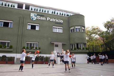Instalaciones del Colegio San Patricio en Italia.