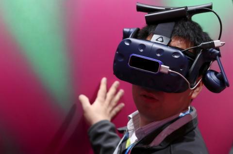 Gafas realidad virtual chino Mobile