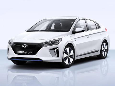 Hyundai Ioniq renting