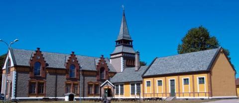 Iglesia en la prisión de Bastoy.