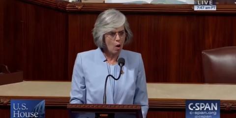 La política republicana Katherine Clark.