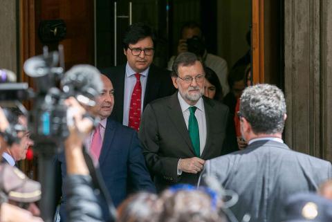 Mariano Rajoy tras la moción de censura
