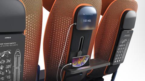 asientos avión del futuro clase turista