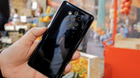 Nokia 9 Pureview - Parte trasera