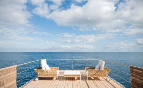 Punta del Mar terraza glamping