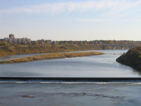 Río Sakastchewan.
